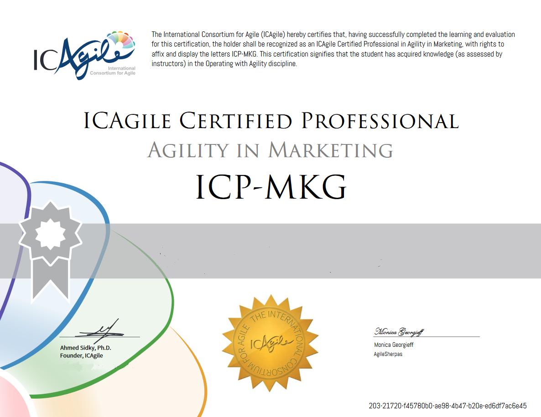 AMF Certificate