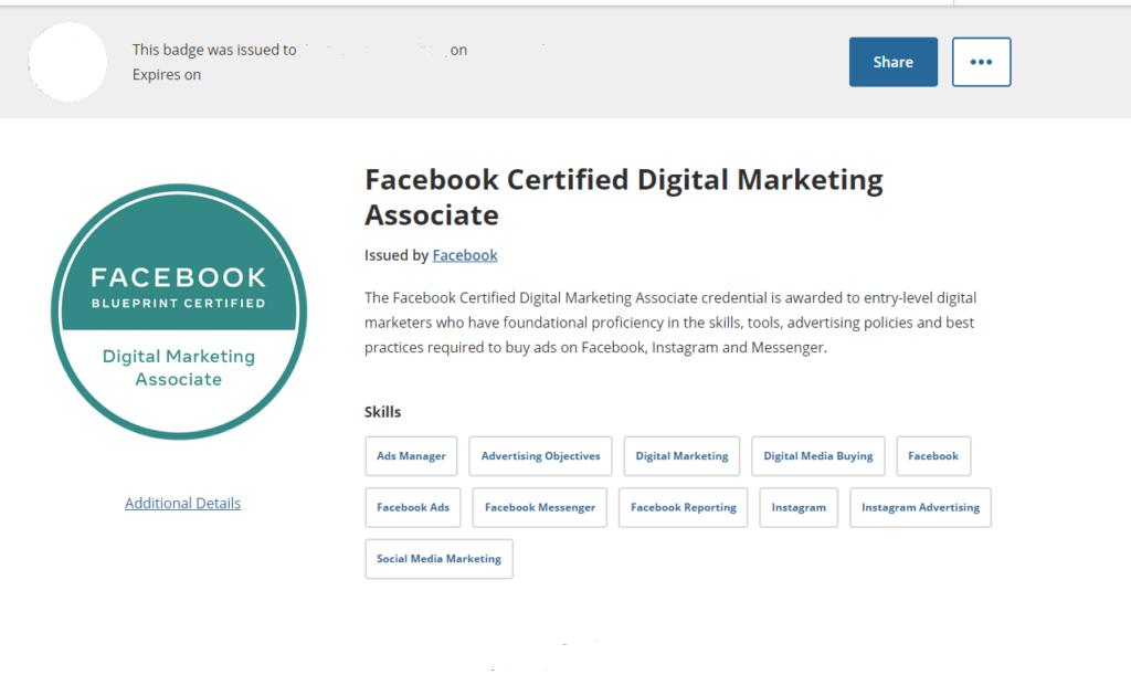 Facebook Digital Marketing Associate Certificate-1