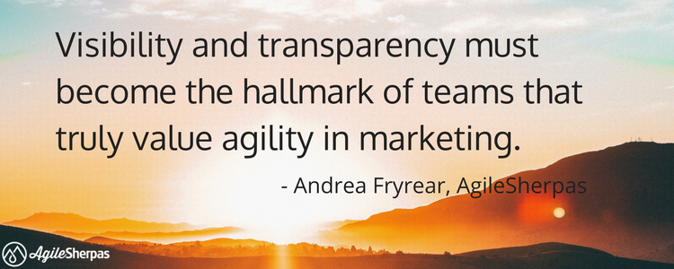 make marketing agile quote