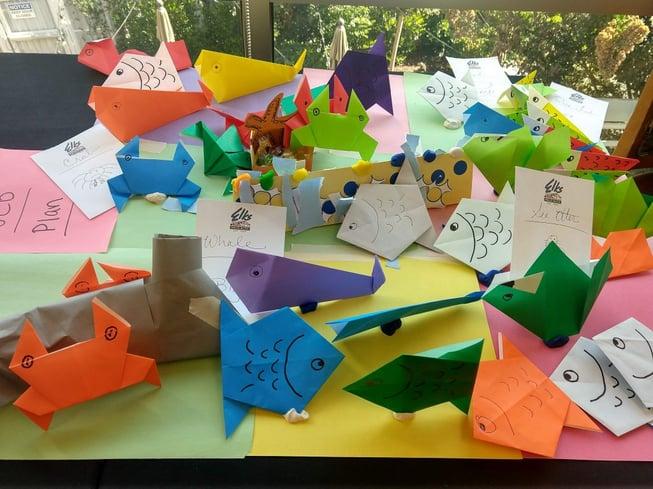 origami agile fish