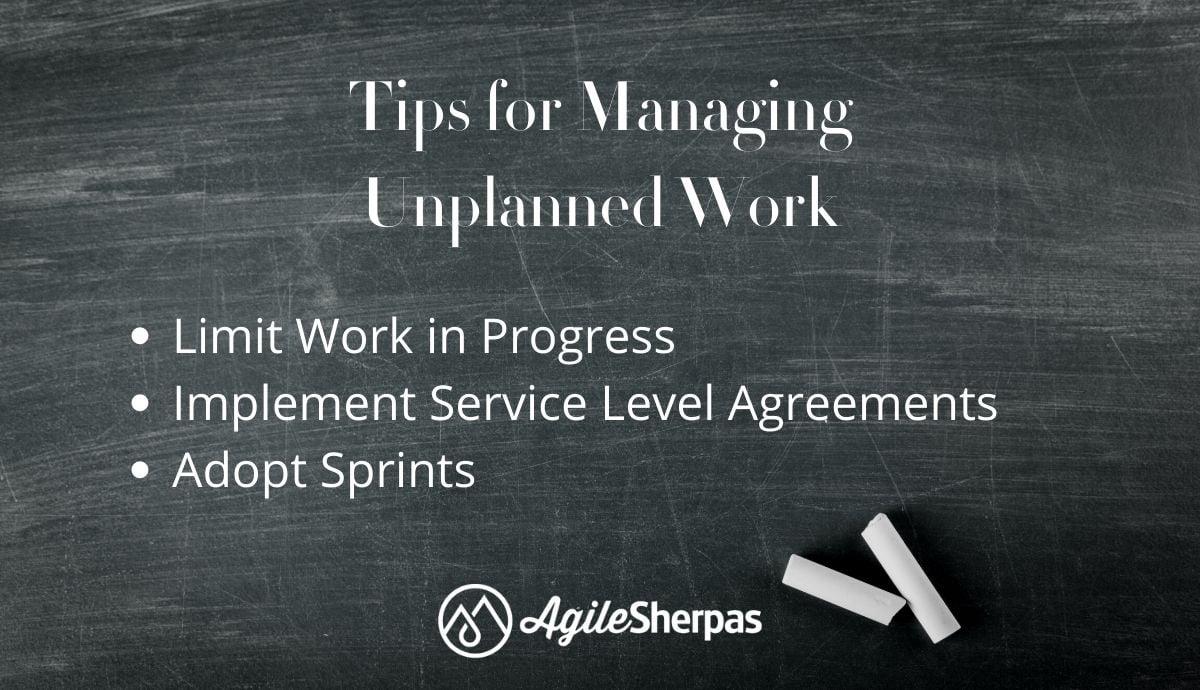 Managing Unplanned Work