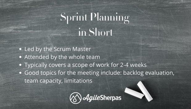Sprint Planning in Short-1